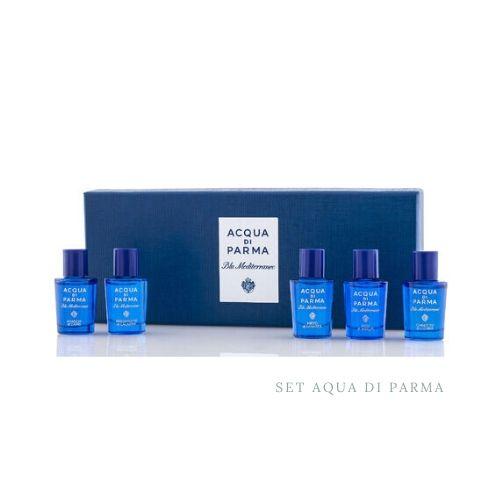 Aqua di parma set de mini perfumes